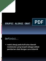 Erupsi Alergi Obat Presentasi