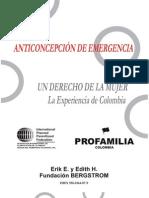 Anticoncepcion de Emergencia