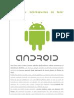 Ventajas e Inconvenientes de Tener Android