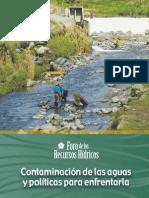 Contaminacion de Las Aguas y Politicas Para Enfrentarla