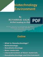 Nanobiotechnology and environment