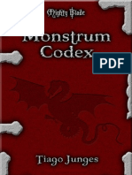 Mighty Blade II - Monstrum Codex 29