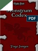Mighty Blade II - Monstrum Codex 29