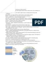 Cell Biology Summary BIOL1020
