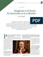 Lynn Margulis - Simbiogénesis.pdf
