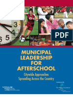 Municipal Leadership for Afterschool