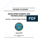 Section 9 - Ground Combat Systems Technology
