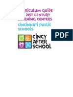 c Incy After School Curriculum