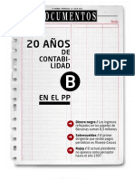 Bárcenas - Diario 'El Mundo' - 20 años de contabilidad B en el Partido Popular. 17.07.2013