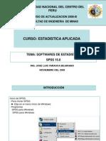 SPSS 15.0-PRESENTACION 2008-III.ppt