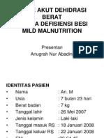 Diare Akut Dehidrasi Berat Dini