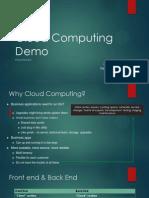 Cloud Computing Demo