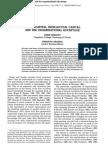 Social Capital, Intellectual Capital, And the Organizational Advantage
