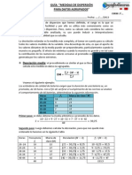guía medidas de dispersión para datos agrupados