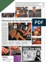 5-10-2009 AN25 DIARIO EL COMERCIO LIMA PERU DANZANTES DE TIJERA