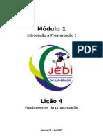 Lição 4 - Fundamentos da programação - Apostila