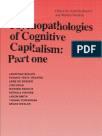 The Psychopathologies of Cognitive