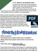 Act 7 Gravity