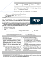 Civil Service Application
