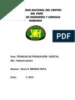 Informe de Abono Inorganico