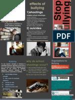 Bullying Pamphlet Final Edit