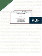 Examen parcial de Sociología dela comunicación