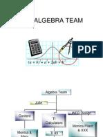 2002 Algebra Team