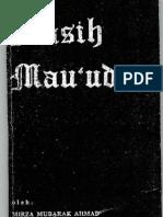 Masih Mau'Ud (Riwayat Hidup Mirza Ghulam Ahmad )-Mirza Mubarak Ahmad
