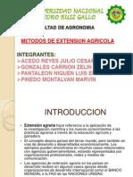 Diapositivas Metodos de Extension Agricola