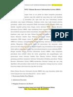Sistem Informasi Sdm - Konsultan Hris