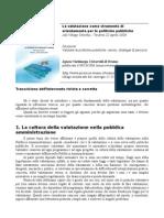 Valutazione e culture del lavoro nella pubblica amministrazione (2004)