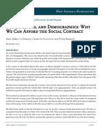 Debt, Deficits, and Demographics