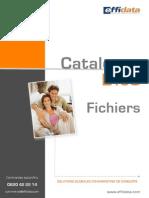 Catalogue Fichiers B2C Effidata