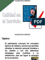 Capitulo 4 Calidad en El Servicio