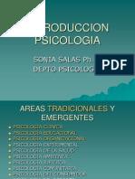 Areas Psicologia 2011