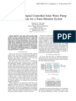 Design of a Digital Controlled Solar Water Pump