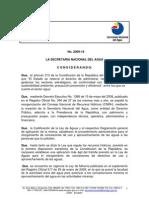 Acuerdo No 2009-18 Instructivo Para Procedimientos Ley