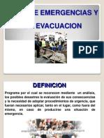 Presentacion Plan de Emergencias y Evacuacion