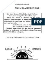 The Real Naam is a Hidden One