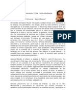 Basave Agustin, De Narcos, Etica y Conveniencia