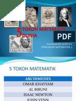 TOKOH-MATEMATIK