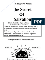 The Secret of Salvation