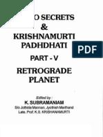 Astro-Secrets & KP Part5