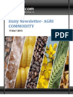 Daily Agri News Letter 17 July 2013