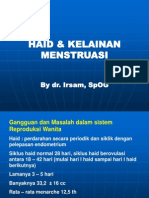 Haid & Kelainan Menstruasi