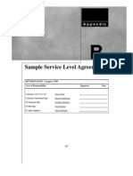 Itservices Appb Sample SLA