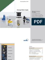 Drainage Water Supply Data