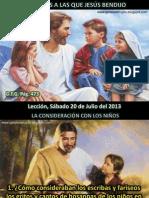 Lección 03 - Personas que Jesús bendijo