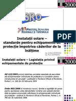 Solare - Echipament Protectie