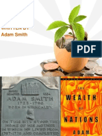 PPT ON Wealth of Nations (written by Adam Smith)